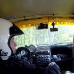 Rallye fahren ohne Lenkrad