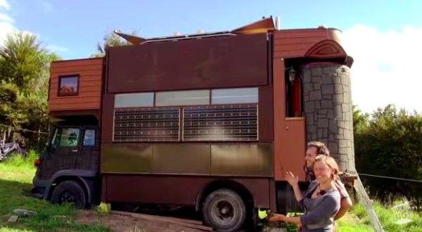 küçük, Bir kamyon üzerinde yaşanılabilir kale