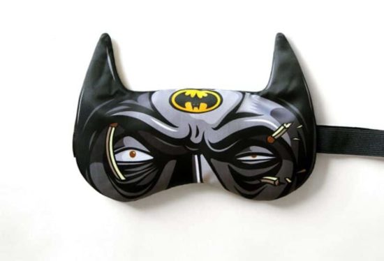 Heros never Sleep! - A different sleep mask