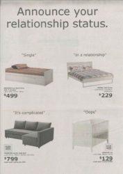 Witzige Ikea Werbung für Betten