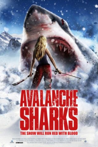 Avalanche Shark - juliste