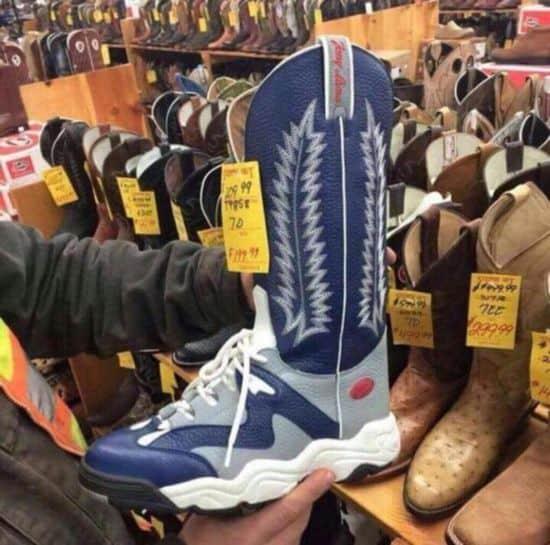 Cowboy-Sneaker