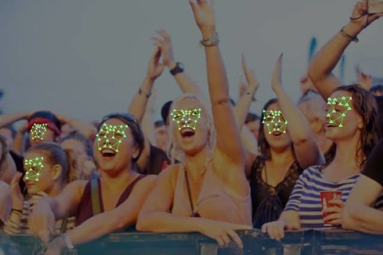 Police scanned the face of each of 90,000 festival-goers