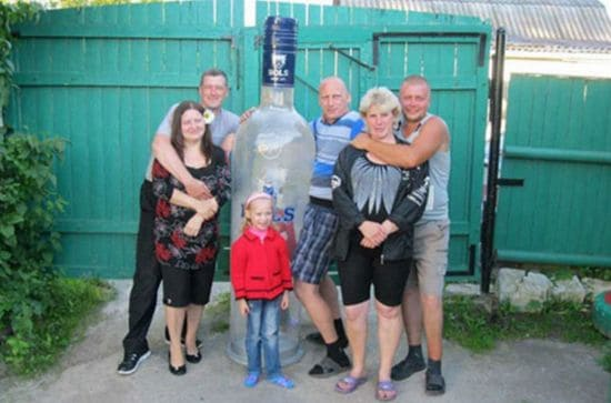 Russian family photo