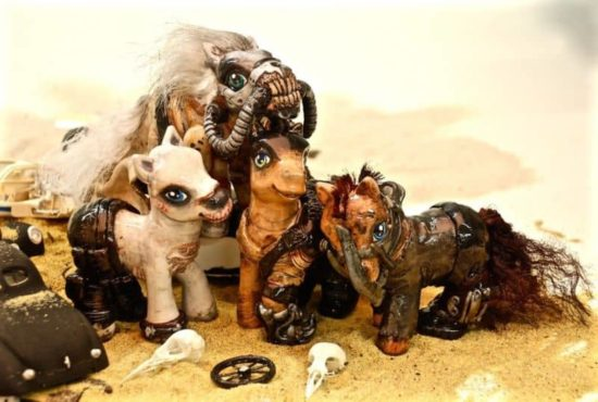 Mad Max Fury Road Ponies
