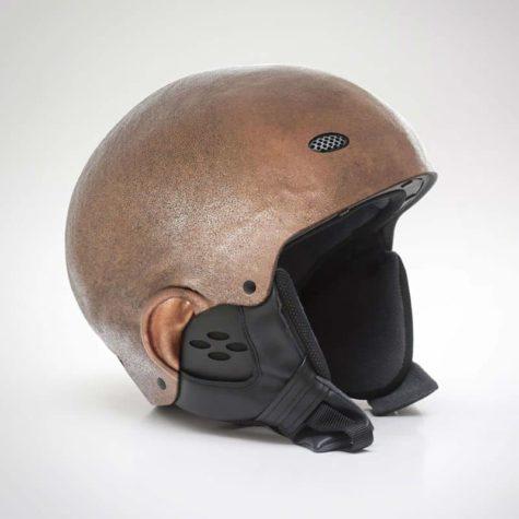 Human Skin Helmets