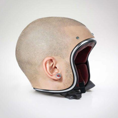 Menselijke huid Helmen