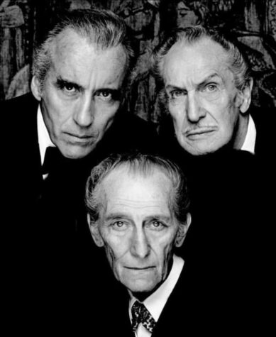 Den Bat Pack: Christopher Lee, Vincent Price, Peter Cushing
