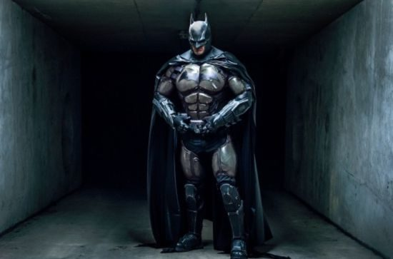 I cosplayer ultimo Batman