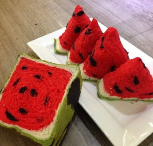 The watermelons toast