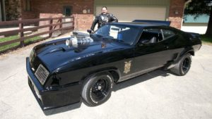 Fan builds his own Mad Max Interceptor