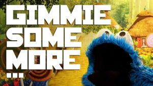 Gimme some plus ... Cookies - Cookie Monster vs. Busta Rhymes