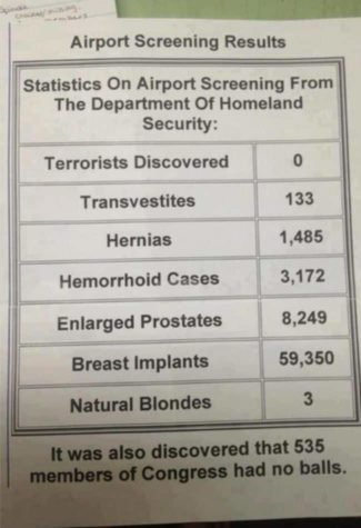 Homeland Security Airport Screening resultater