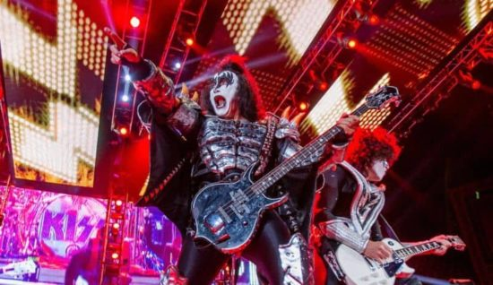 Gece yaratıkları: The KISS 40th Anniversary World Tour in Zürich