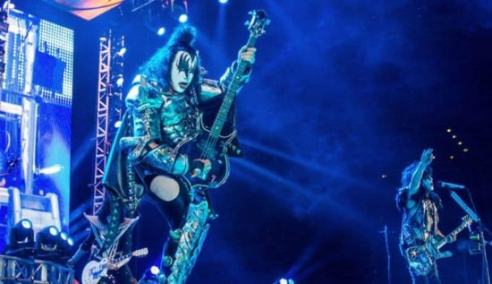 Criaturas da noite: The KISS 40th Anniversary World Tour in Zürich