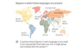 Wo in der Welt spricht man eigentlich welche Sprache?