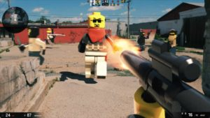 Lego: First Person Shooter