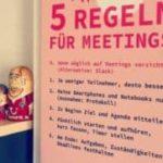 Fem Regler for møderne