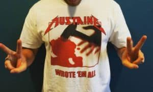 Shirt des Tages: Mustaine - Wrote 'em all