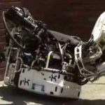 Robot Falling Down