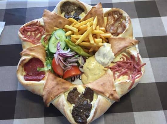 Schwedische Super Pizza