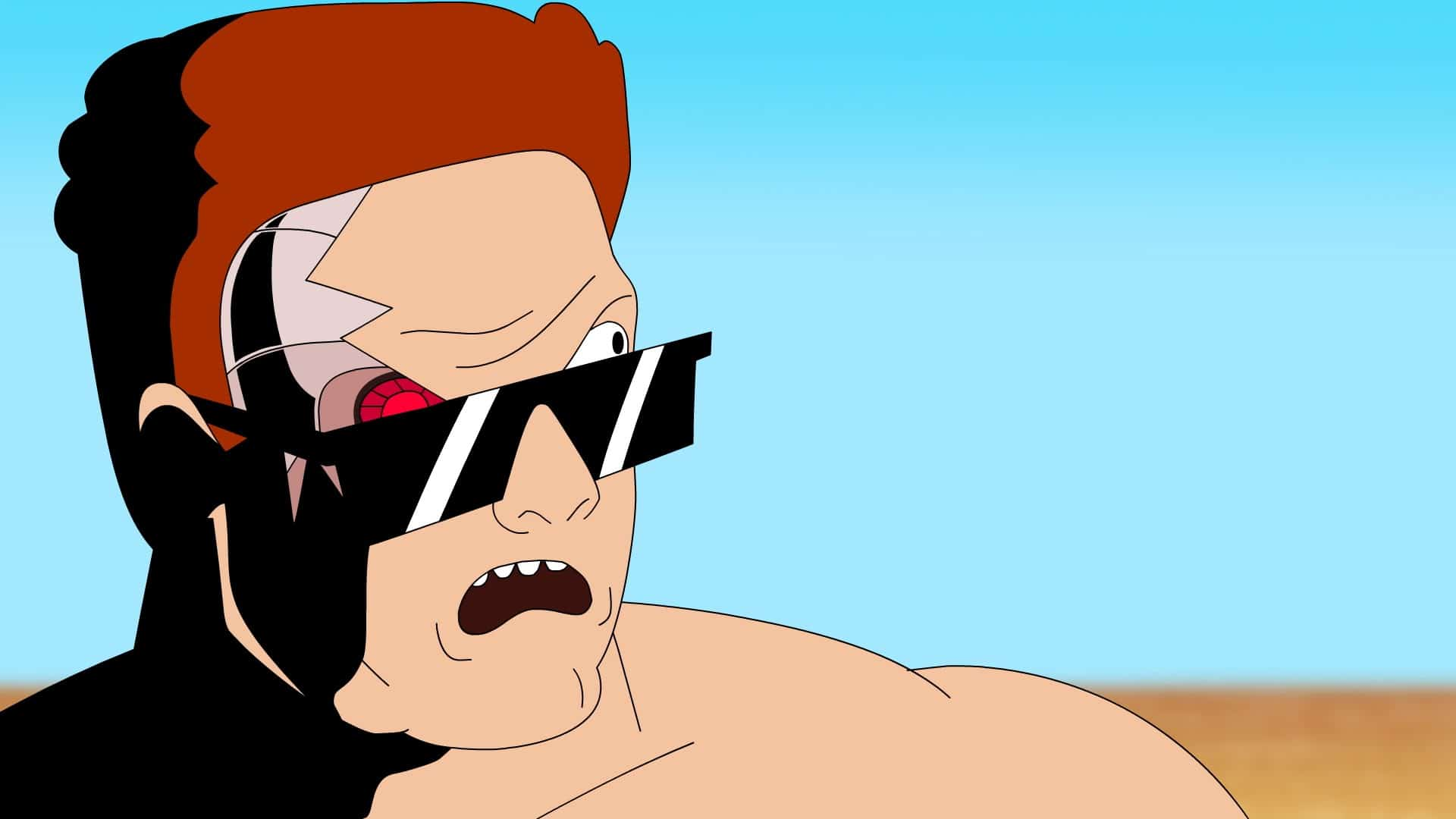 Terminator geht in den Urlaub – Terminator goes on Vacation
