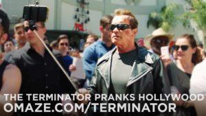 Terminator grapje eigen fans