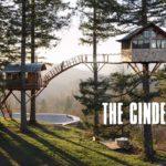 El cono de escoria: Zwei Baumhäuser und ein Skate Bowl im Wald