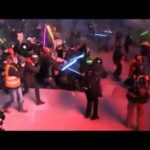 Tumult with lightsabers