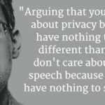 TVP, Edward Snowden twittert