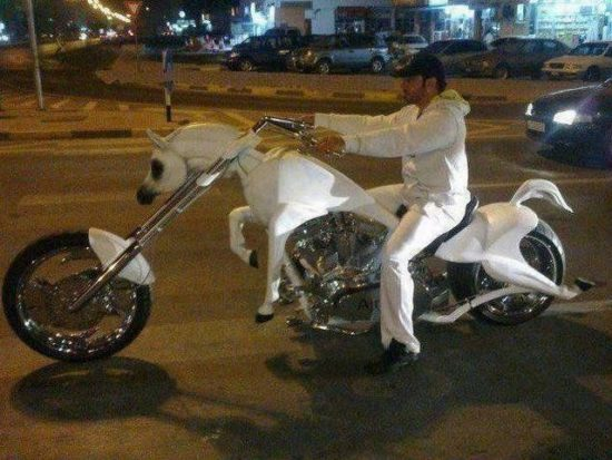 The Unicorn motorcycle