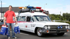 Real Life Ghostbusters Ecto-1