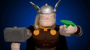 Thorigami: Crafts with the God of Thunder