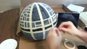 How to build a Death Star from an IKEA lamp