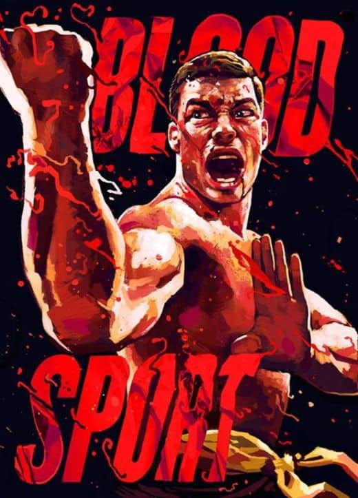Bloodsport Fan Art