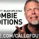 "do Metallica James Hetfield als zumbi em ""Call of Duty"""