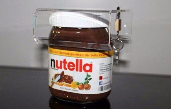 Nutella cam için Güvenlik kilidi