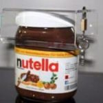 Security lock for Nutella glass