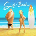 Soleil d'une plage