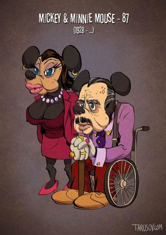 Personagens de banda desenhada com idades: Como viu Donald, Mickey e Pateta hoje