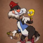 Cartoon characters aged: How would Donald, Mickey and Goofy look today?
