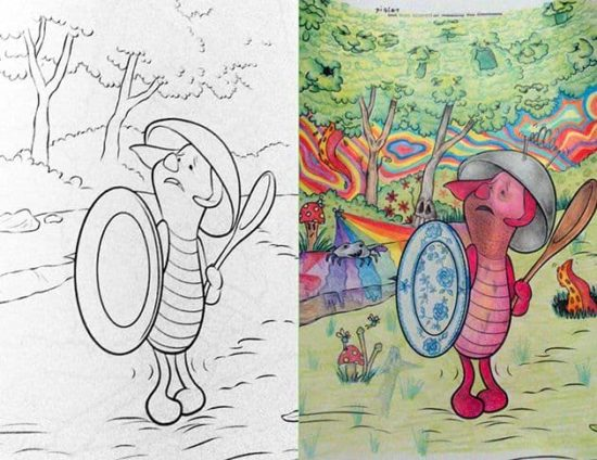 Coloring Book corrupciones