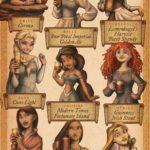 Como femeninos Estrellas de Disney celebran Oktoberfest