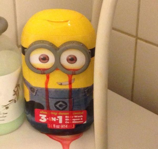 Horror Minion Body Wash