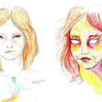 Effects of drugs: 11 Self-portraits within 9 Hours LSD