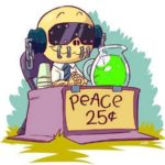 Cute Vic Rattlehead: Peace Sells But Who's Buying?