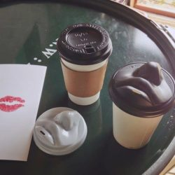Let yourself morning kiss from your morning Coffee To Go