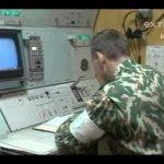 Den sidste tur af en russisk jernbane missil kompleks