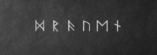 Skriv dit navn i vikingetiden runer