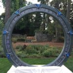 Marriage in front of a Stargate
